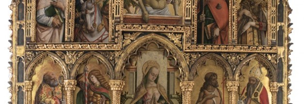 Polyptych by Carlo and Vittore Crivelli