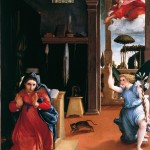 The Annunciation by Lorenzo Lotto